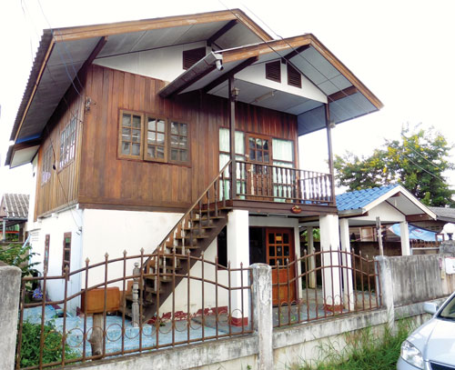 The Chiang Rai property.